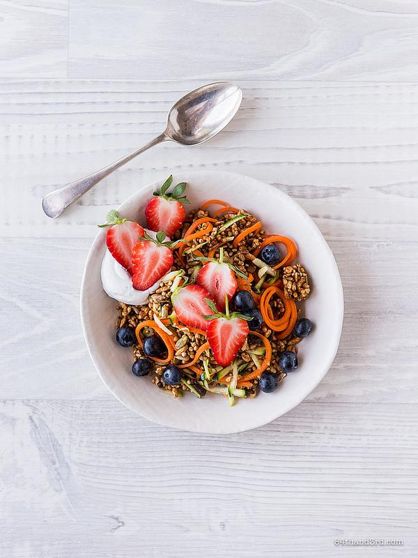 Carrot Zucchini Muesli Bowl2 - Carrot & Zucchini Muesli Bowl