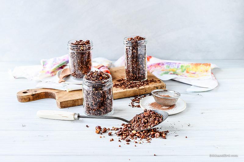 Chocolate Hazelnut Granola 5 - Chocolate Hazelnut Granola