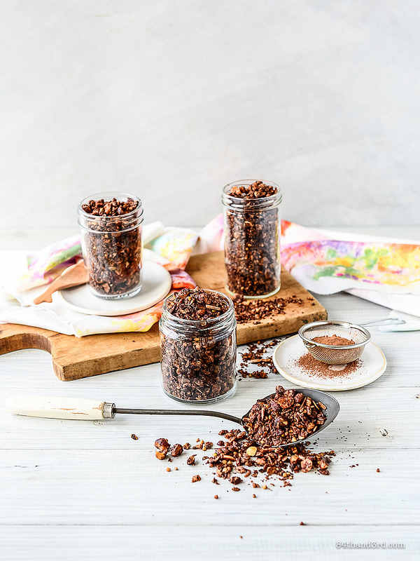 Chocolate Hazelnut Granola - Chocolate Hazelnut Granola