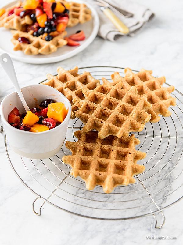 Crispy Oat Waffles5 - Crispy Oat Waffles