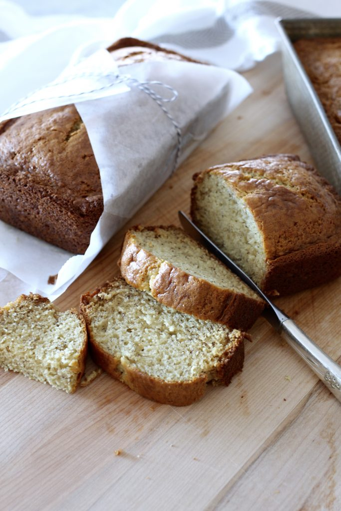 FAVORITE SOUR CREAM BANANA BREAD1 - FAVORITE SOUR CREAM BANANA BREAD