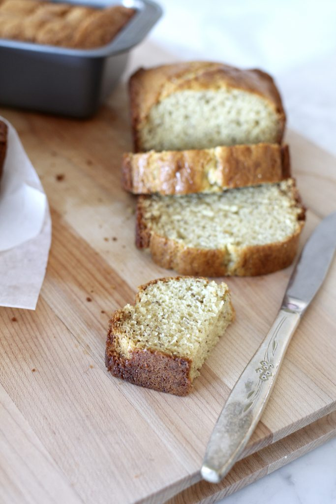 FAVORITE SOUR CREAM BANANA BREAD4 - FAVORITE SOUR CREAM BANANA BREAD