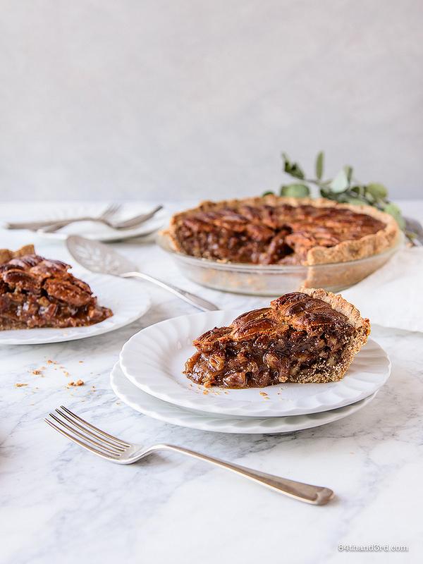 Healthier Pecan Pie 2 - Healthier Pecan Pie