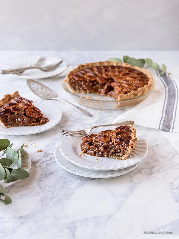 Healthier Pecan Pie 6 - Healthier Pecan Pie