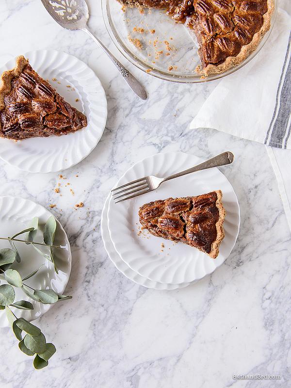 Healthier Pecan Pie 8 - Healthier Pecan Pie