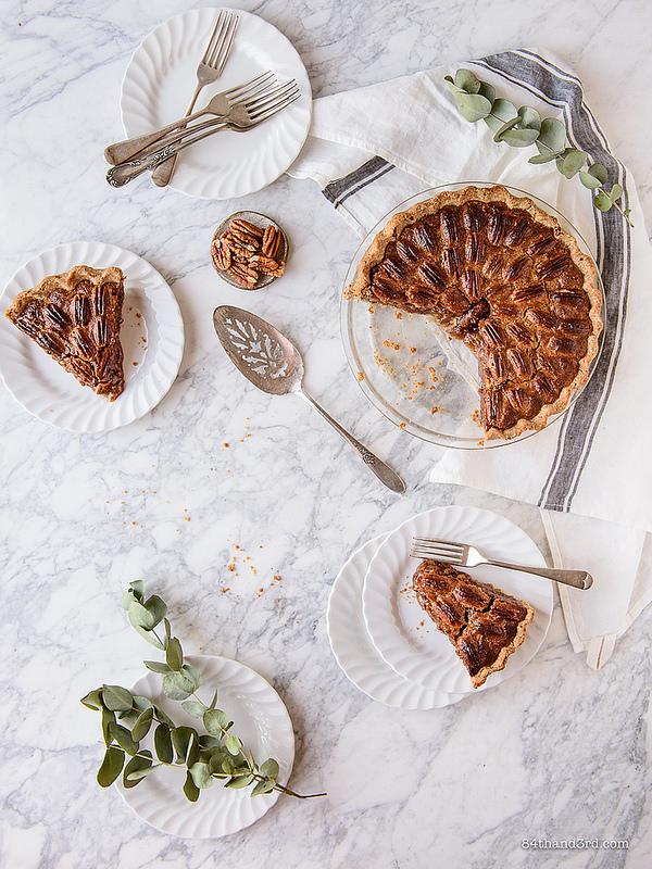 Healthier Pecan Pie - Healthier Pecan Pie