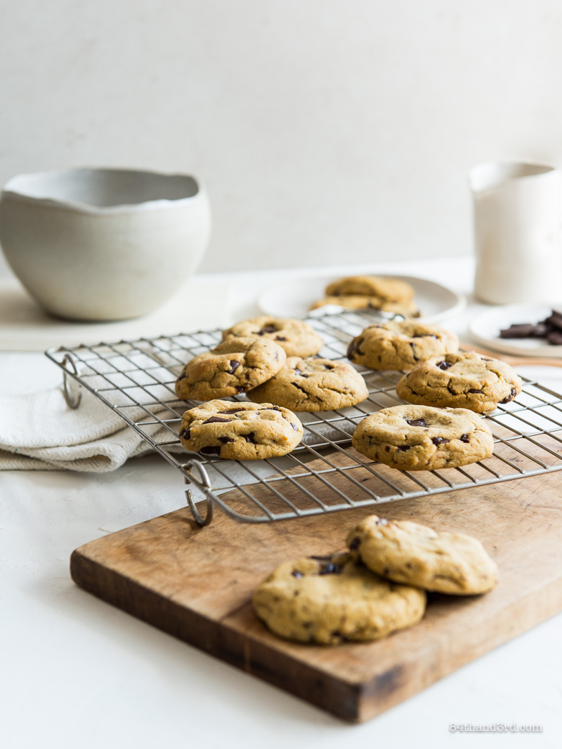 Seriously Amazing Gluten Free Chocolate Chip Cookies they're Dairy Free too 1 - Seriously Amazing Gluten Free Chocolate Chip Cookies (they're Dairy Free too)