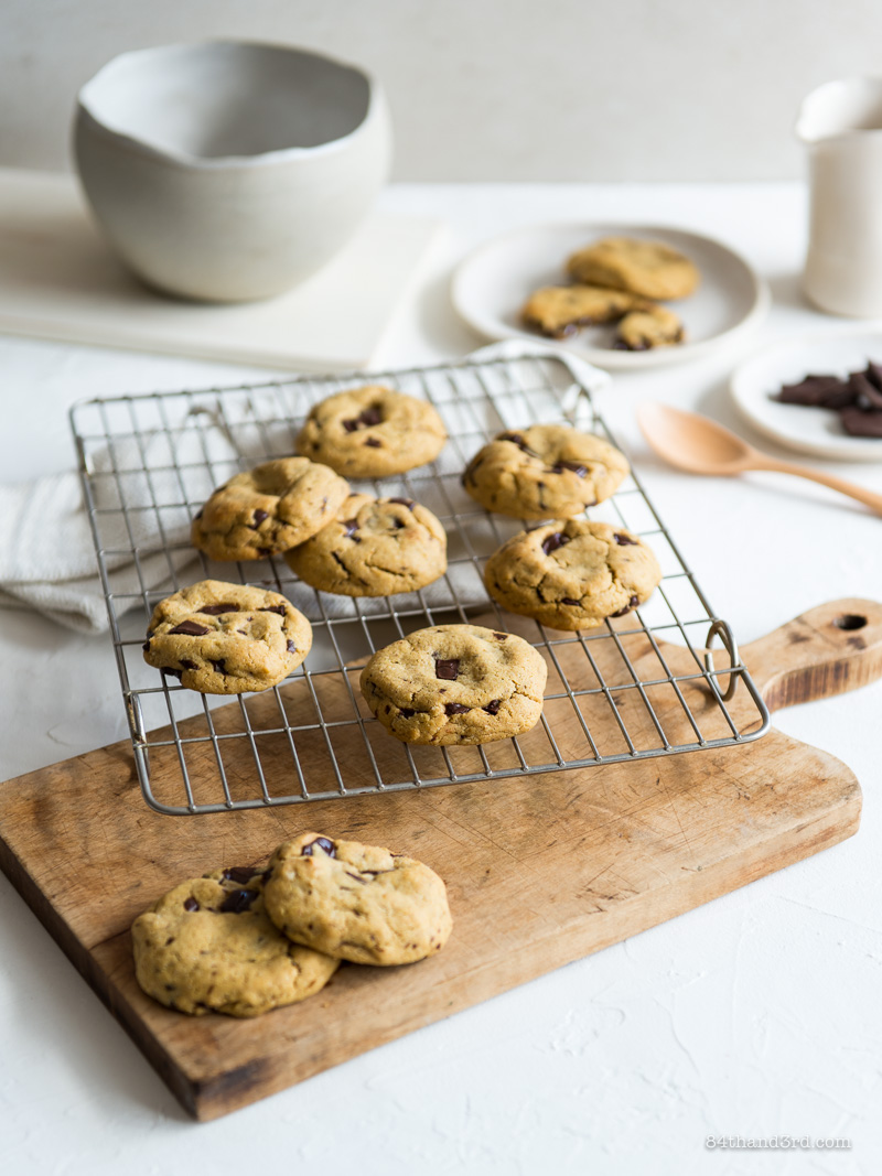 Seriously Amazing Gluten Free Chocolate Chip Cookies they're Dairy Free too 2 - Seriously Amazing Gluten Free Chocolate Chip Cookies (they're Dairy Free too)