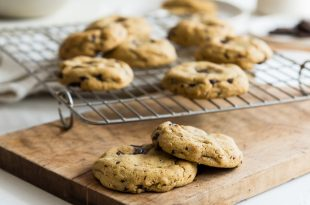 Seriously Amazing Gluten Free Chocolate Chip Cookies they're Dairy Free too 4 310x205 - Seriously Amazing Gluten Free Chocolate Chip Cookies (they're Dairy Free too)