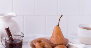 Spelt Crepes Mulled Wine Poached Pears The Decadent Pantry3 310x165 - Spelt Crepes, Mulled Wine Poached Pears & The Decadent Pantry